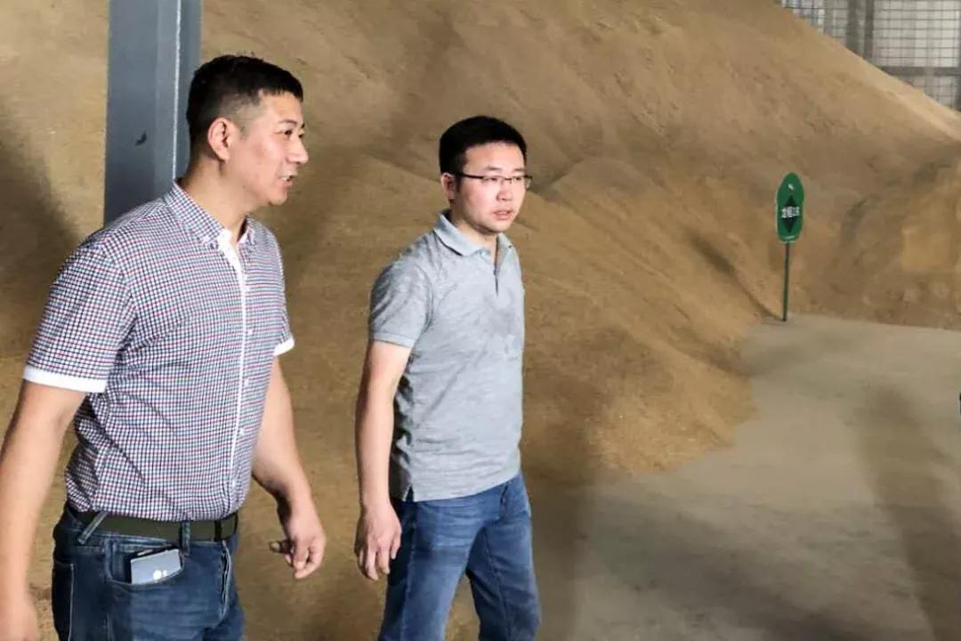 头条资讯│浙江省粮食集团领导来我司考察并指导工作!